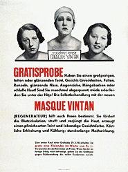 Anonym - Masque Vintan