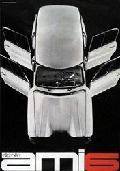 Delpire Publicité - Citroën Ami 6