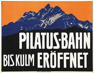 Burger Wilhelm Friedrich - Pilatus-Bahn