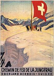 Cardinaux Emil - Chemin de fer de la Jungfrau