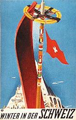 Carigiet Alois - Winter in der Schweiz