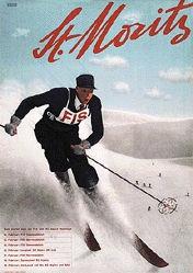 Herdeg Walter - FIS - St. Moritz