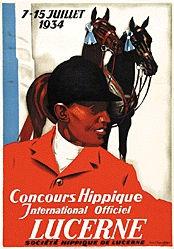 Hugentobler Iwan Edwin - Concours Hippique