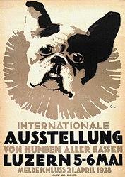 Landolt Otto - Ausstellung von Hunden