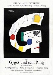 Leupin Herbert - Gyges und sein Ring