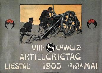 Mangold Burkhard - Artillerietag