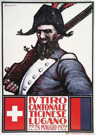 Ferrazzini Emilio - Tiro cantonale Lugano