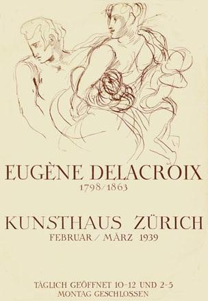 Anonym - Eugène Delacroix