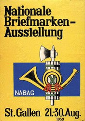 Anonym - NABAG - Nationale Briefmarken-Ausstellung