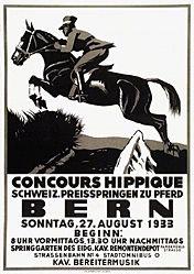 Hugentobler Iwan Edwin - Concours Hippique Bern