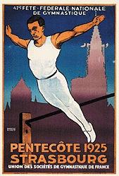 Schmitt Ernest - Fête fédérale nationale de Gymnastique