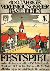 Stoecklin Niklaus - Festspiel Riehen