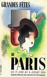 Carlu Jean - Grandes fêtes de Paris