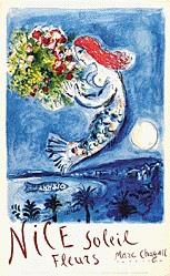 Chagall Marc - Nice - Soleil Fleurs