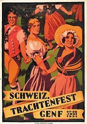 Courvoisier Jules - Schweiz. Trachtenfest Genf