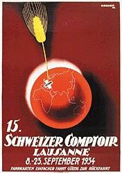 Kramer Pierre - Comptoir Suisse Lausanne