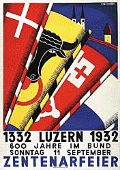 Mossdorf Ernst Gustav - Zehntenarfeier Luzern