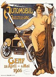 Pik (Krawutschke Paul) - Automobil-Ausstellung Genf