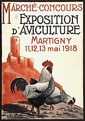Anonym - Exposition d'Aviculture
