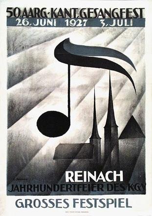 Steinmann Erhardt - 50. Aarg. Kant.Gesangfest Reinach