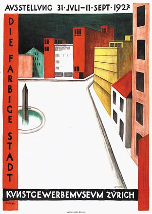 Brügger Arnold - Die farbige Stadt