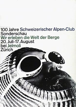 Zryd Werner - 100 Jahre Schweizerischer Alpen-Club