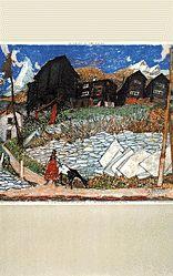 Carigiet Alois - ohne Titel (le Valais)