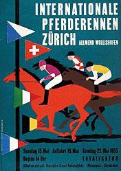 Gerbig Richard - Pferderennen Zürich