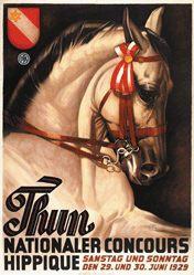 Hugentobler Iwan Edwin - Concours Hippique Thun