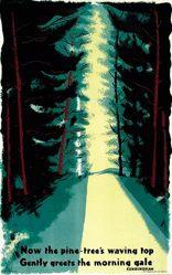 McKnight-Kauffer Edward - Now the pine