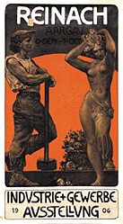 Monogramm W.B. - Industrie Ausstellung