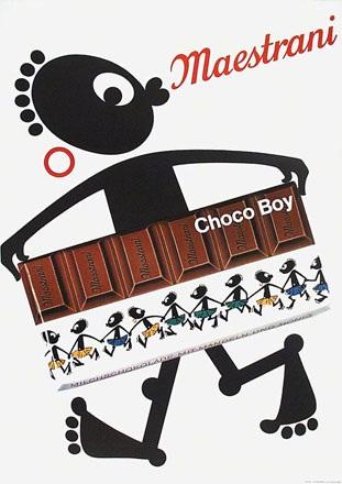 Anonym - Maestrani Choco Boy