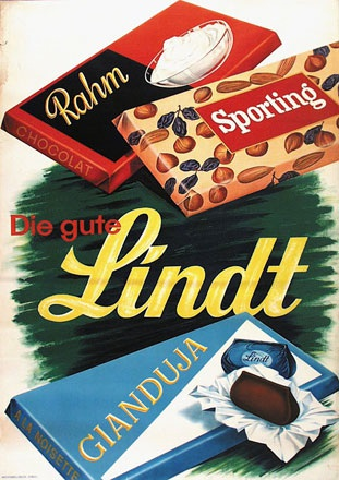 Anonym - Lindt Chocolade