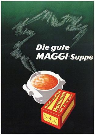 Anonym - Die gute Maggi-Suppe