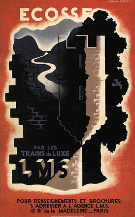 Cassandre A.M. - LMS - London Midland and Scottish Railway