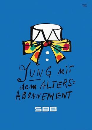Leupin Herbert - SBB - Altersabonnement