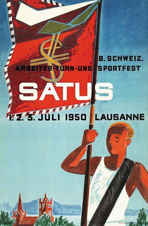 Monnerat Pierre - Satus - 8. Schweiz. Arbeiter