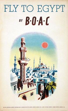 Xenia - BOAC fly to Egypt