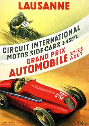 Bournoud-Schorp Marguerite  - Circuit International Side-cars