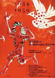 Steiner Heinrich - 125 Jahre Stadttheater Zürich