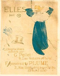 Lautrec Toulouse - Exposées à la Plume