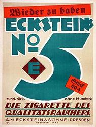 Monogramm K.E. - Eckstein No. 5