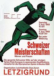 Lips Robert - Leichathletik Schweizer Meisterschaften
