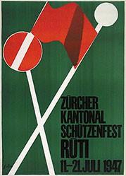 Keller Ernst - Zürcher Kantonal Schützenfest Rüti