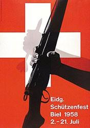 Lenz Eugen + Max - Eidg. Schützenfest Biel