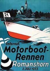 Anonym - Internat. Motorboot-Rennen