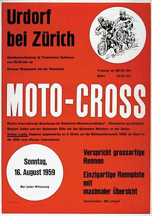 Anonym - Moto-Cross Urdorf