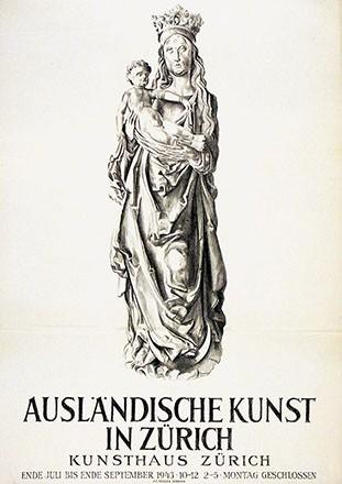 Baumberger Otto - Ausländische Kunst