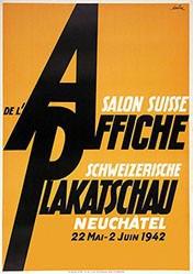 de Coulon Eric - Schweizerische Plakatschau