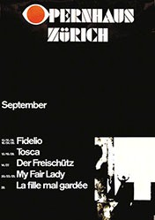 Geissbühler Karl Domenic - Opernhaus Zürich